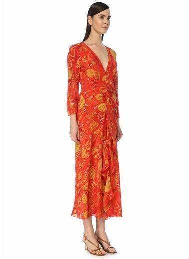Rixo Elbise Kırmızı